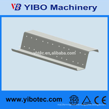 Yibo Steel Structure Z Bar Roll Forming Steel Purlin