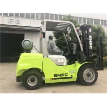 3.5 Ton Gasoline Forklift With Japan Nissan K25 Motor