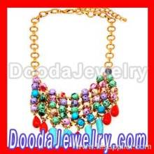 2013 New Ladies Colorful Beaded Necklace Statement Costume Jewelry