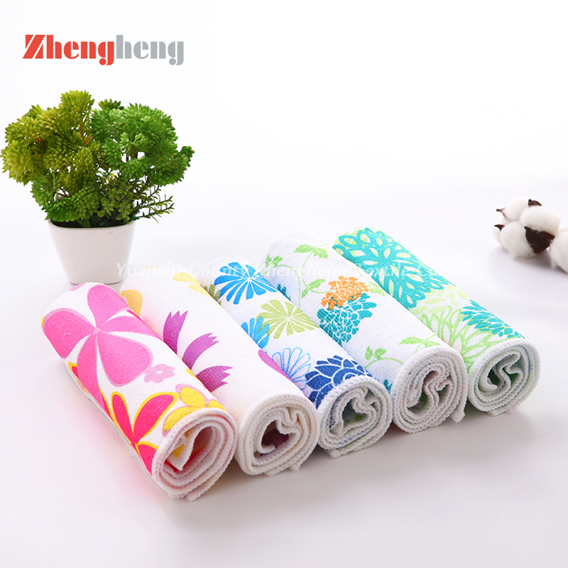 The Printting Microfiber Towels OEM Produced