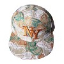 Fitted Baseball Cap with Flat Peak Ne004