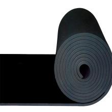 värmeisoleringsmaterial EPDM CR NBR gummi skumplåt