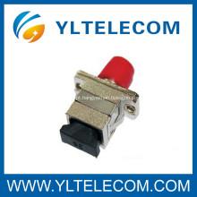 Adaptador tipo fibra óptica atenuador FC SC híbrido baixa perda de inserção