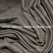 Tissu en daim extensible de haute qualité pour les chaussures