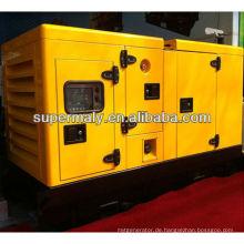 Elektrischer Start einphasiger 10kW Generator wetterfest / leiser Typ