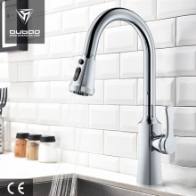 Goose Neck Kitchen Sink Mixer Taps With Sprayer