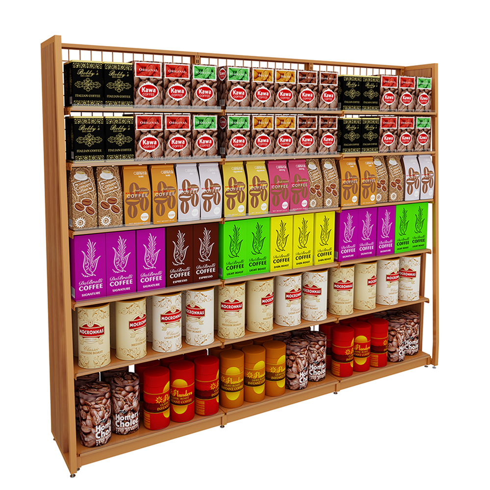 Single-Sided Shelving Units