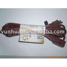 RALLONGE cordon EJS utilitaire électrique extérieur cordon orange ménage cordon marron intérieur