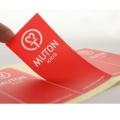 Etiqueta adesiva da etiqueta do PVC do logotipo do vinil da impressão