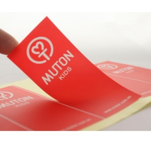 Percetakan Vinyl Logo PVC Sticker Sticker Label