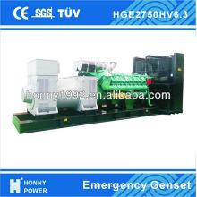 2500KVA Diesel-Generator, 6300V
