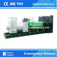2500KVA Diesel Generator, 6300V