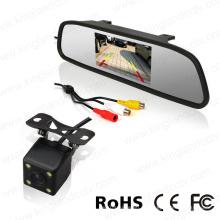 4,3-дюймовый монитор зеркала заднего вида с системой парковки заднего вида