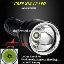2014 neue professionelle cree xml t6 LED Tauchen Licht Taschenlampe Tauchen Ausrüstung