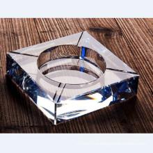 Fastion квадратный стеклянный Кристалл Пепельница для украшения гостиницы