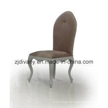 Tela de madera estilo poste-moderno asiento silla (LS-308)