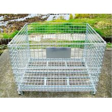Galvanized Collapsible Wire Mesh Container