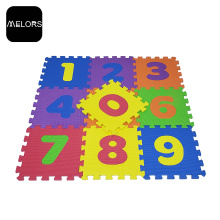 Interlocking Kids Foam Toys Educational Numbers Puzzle Mat
