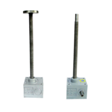 Worm Gear Jack Lift con carrera larga