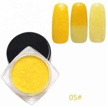 Термохромный пигментный порошок для лака для ногтей. Косметика