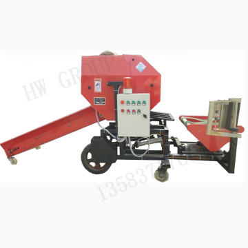 Electric sliage hay baler machine price