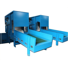 Polyester bale opener machine
