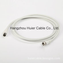 1.5m Coaxial Cable RG6 with F Connectors for TV Cable