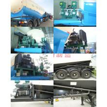 Big Capacity 58cbm Bulk Powder Goods Tank Semi-Trailer for Sale