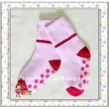 Fine Quality Cute Baby Anti Slip Socks