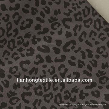 Tecido de algodão do Spandex senhoras calças tecido tecido