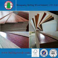 Verschiedene Melaminfarben laminiertes Sperrholz für die Dekoration