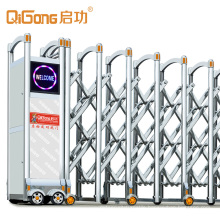 Indonesia Automatic Sliding Electric Retractable Gates Silvery Qdcg 201 Ss