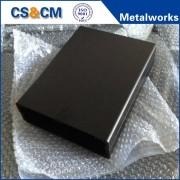 Custom black powder coating sheet metal box