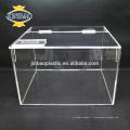 Jinbao cristal cadeau décoration acrylique cadre calendrier chaussure boîte présentoirs