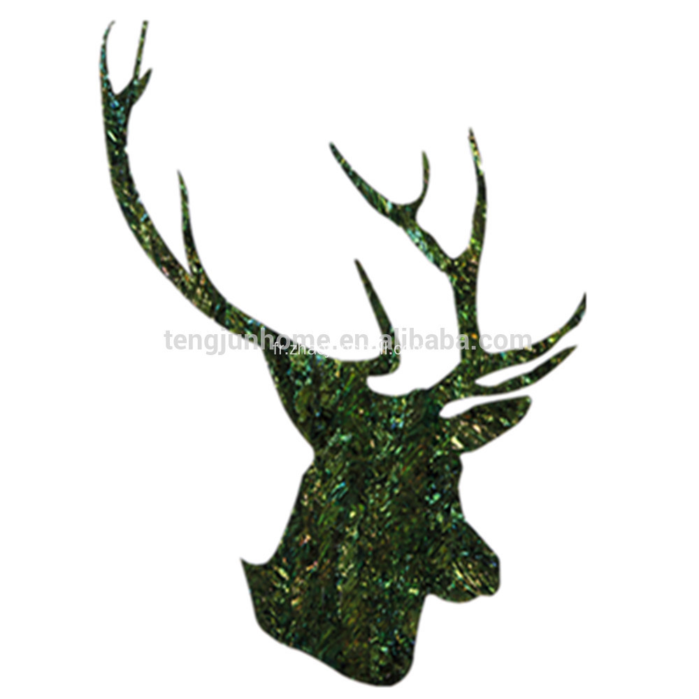 Luxe Design Deer Antler forme mur décoration photos pour Home, Hotel, Restaurant, Bureau