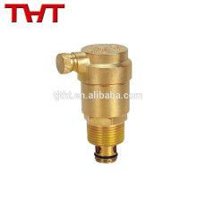 válvula de liberação de ventilação automática de latão