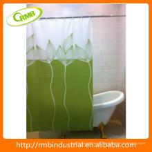 Moda Fancy impressão cortina de chuveiro PEVA