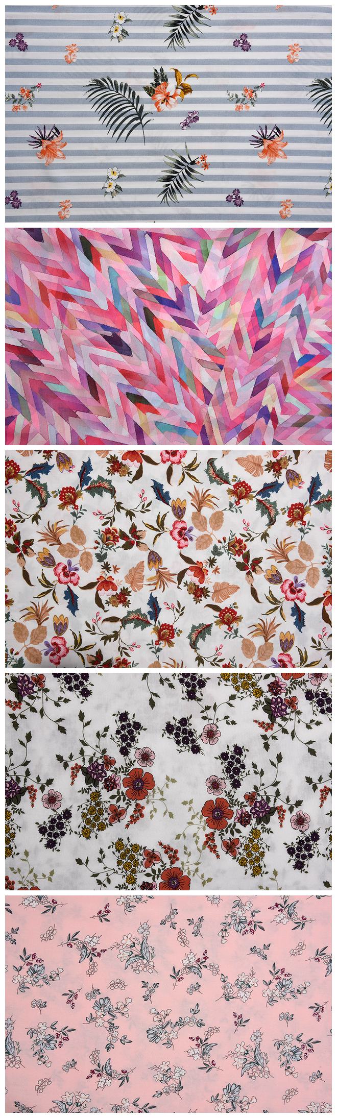 Flowers Pattern Printed Fabrics