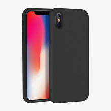 skin liquid silicone phone case for iphone x cover shell