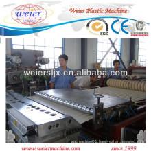 PVC Glazed Roof Tile Extrusion Line/Making Machine