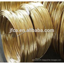 H62 half round brass wire good quality