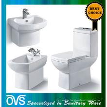 ovs toilet bidet and pedestal basin Item:A1005G