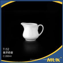 2016 vente chaude guangzhou fournit pot de lait en céramique elegent