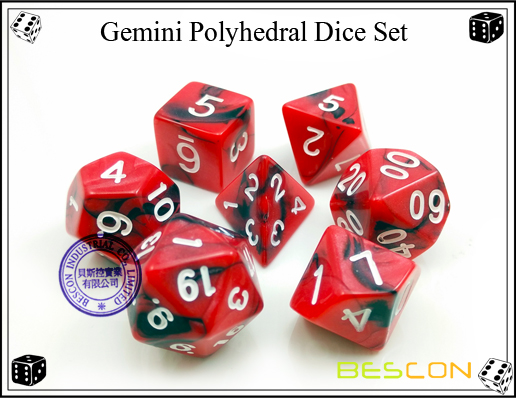 Gemini RPG Dice Set-6