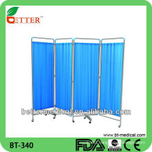 hot sale hospital ward folding screen/hospital bed screen