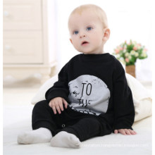 Fashion Letter Printing Long Sleeve Cotton Cute Baby Romper Toddler Infant Romper