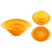 kitchen good helper silicone steamer basket
