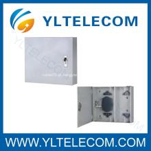 Caixa de terminais Wallmount fibra óptica divisor
