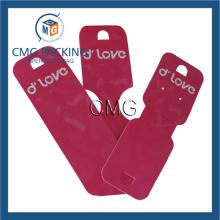 Carte à bijoux rouge pour collier (CMG-038)