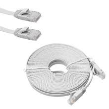 Câble Ethernet plat CAT6 50FT VS rond